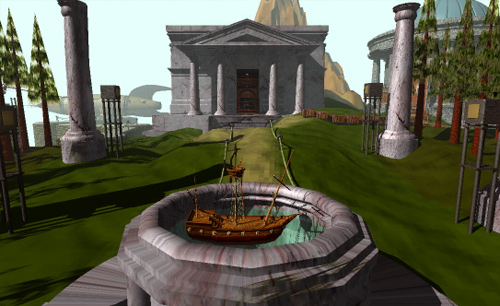 Myst screenshot.