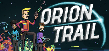 Orion Trail is a single player choose-your-own-space-adventure where you must rely upon your wits, your officers, and your ship to cross the deadly Orion Trail.