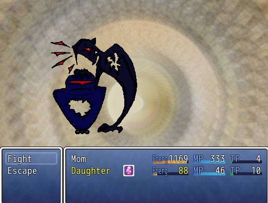 "Some of the monsters in Quest are things that a mother and a daughter might have to overcome together, like ""Ravenous Bills"" and ""Heartless Bullies"" (above)."